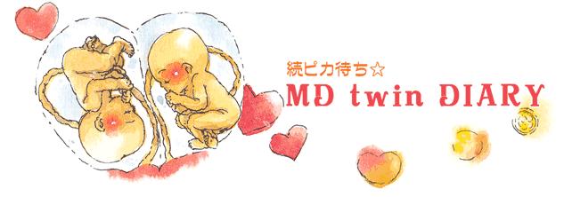 続ピカ待ち☆MD twin DIARY